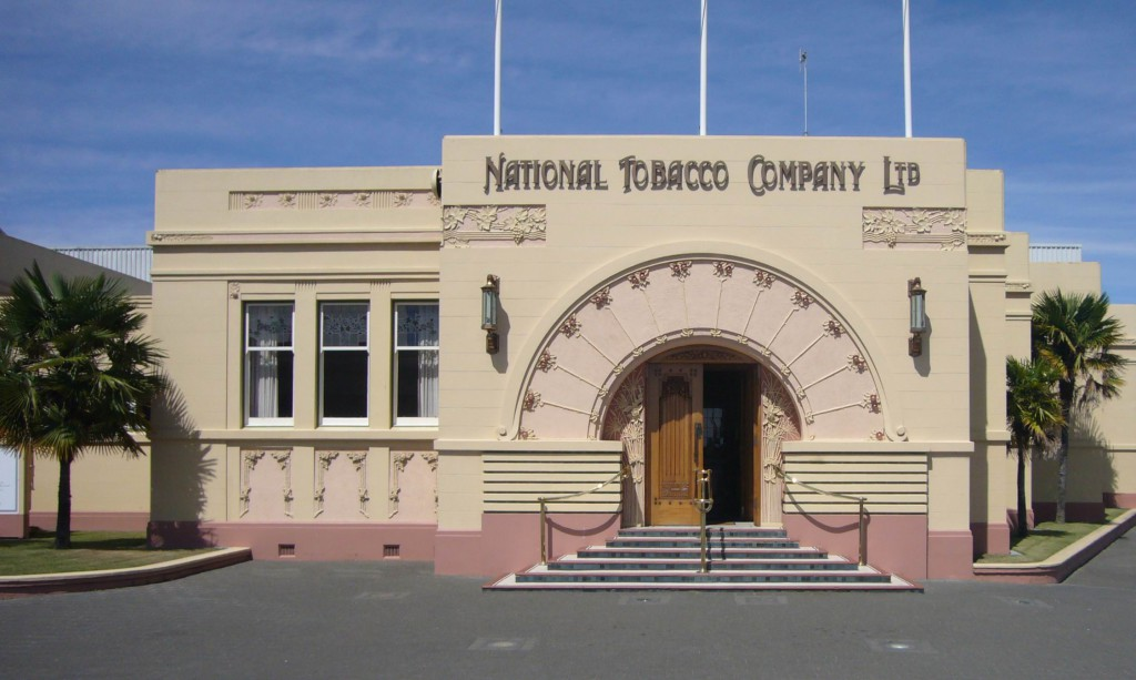 National_Tobacco_Company_Ltd_building_in_Napier,_New_Zealand